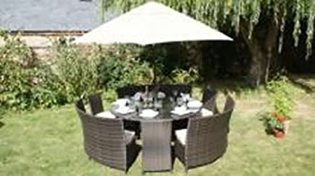 Garden Furniture Cheshire Cheshire 12 seater dining table all weather rattan outdoor garden cheshire 12 seater dining table all weather rattan outdoor garden furniture workwithnaturefo