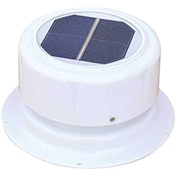 Amazon Com Round Solar Roof Vent For Rvs Boats Sheds