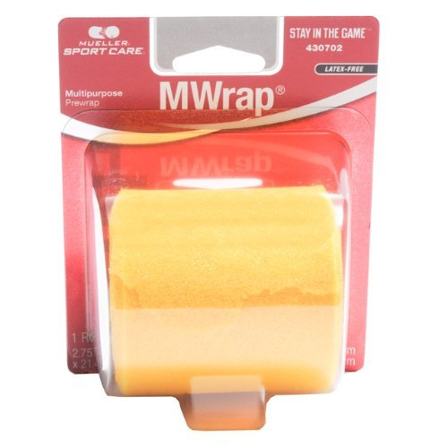 Mixed Colors Bulk Prewrap for Athletic Tape- 1 Roll, - Headband Barrier