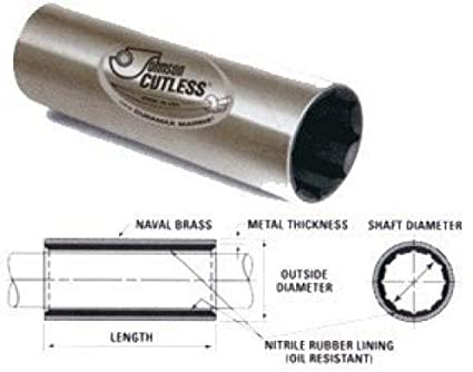 198d7eb886 Image Unavailable. Image not available for. Color  Boat Cutlass Bearings - Johnson  Duramax Cutless Bearing ...