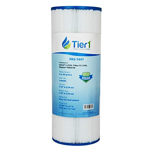 Tier1 Replacement for Dynamic 03FIL1600, Pleatco PRB50-IN, Filbur FC-2390, Unicel C-4950 Filter Cartridge for Dynamic Pool and Spas