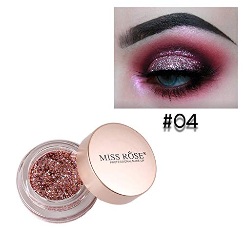 UOKNICE Eye Shadow for Women, Beauty Natural Colorful Shimmer Glitter Powder Palette Matte Cosmetic Makeup Eyeshadow Stick Shades Neutral Empty Maroon pigmented Taupe Angled Popular