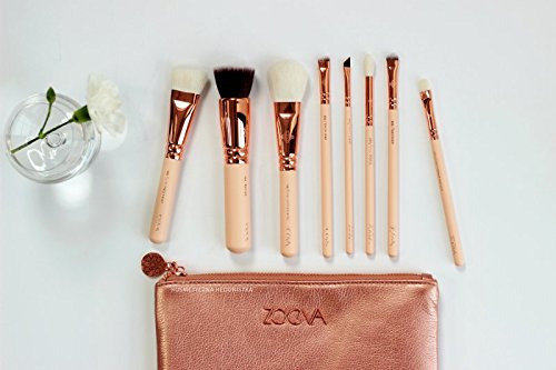 Brushes Makeup ZOEVA Rose Golden Vol. 2 Luxury Set, ZOEVA Set 8 Face Brushes. by ZOEVA