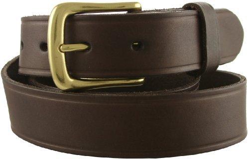 Joe's Solid 100% Leather Uniform Work Genuine Leather Jean Belt 32mm or 1-1/4