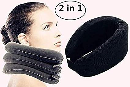 Almohada hinchable para el cuello Dispositivo de tracción cervical ...