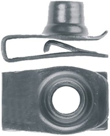 Clipsandfasteners Inc 25 5//16-18 Extruded U Nuts Compatible with GM 1494253