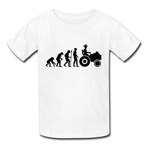 Youth Farmer Evolution Kids T-Shirt - T-shirt Evolution Kids