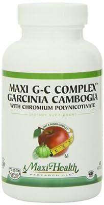 Maxi Health G-C Complex - Garcinia Cambogia - Diet & Sugar Complex - 60 Capsules - Kosher