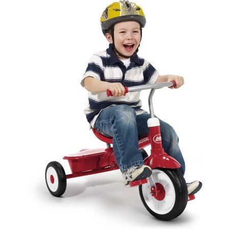Radio Flyer 4 in 1 Trike, Red /Model:811