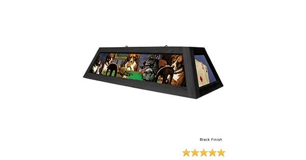 Diseño de perritos jugando atizador lámpara de escritorio de billar: marrón: Amazon.es: Bricolaje y herramientas