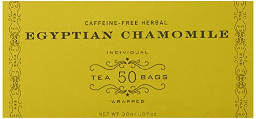 Harney & Sons Herbal Tea, Chamomile, 50 Tea Bags