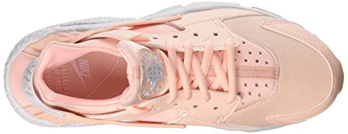 da Huarache Tint Donna Run NIKE Gum Wmns White Ginnastica Sunset Yellow Scarpe Rosa Air BqfHZHxX