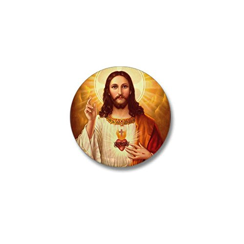 CafePress Sacred Heart Jesus Button