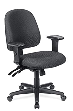 WorkPro 2000 Series Multifunction Fabric Mid-Back Chair, Black