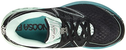 Asics Noosa Ff, Zapatillas de Gimnasia para Mujer Varios colores (Black /         Bay /         Viridian Green)