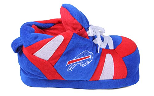 Feet Mens Womens Sneaker Officially Comfy Licensed Nfl Bills Happy And Buffalo Slippers FxdqpwTw