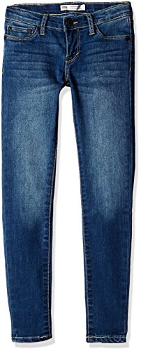 Levi's Big Girls' 710 Super Skinny Fit Performance Jeans, Vintage Waters, 12