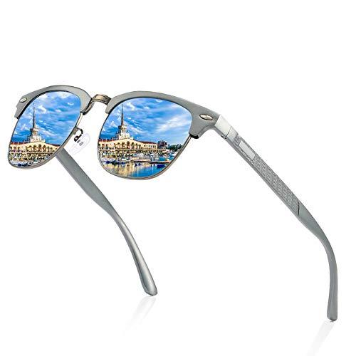 ZHENG Todas Las Gafas de Sol polarizadas de Aluminio ...
