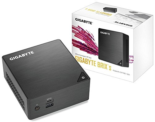 Gigabyte Ultra Compact Mini PC/Intel UHD Graphics 600/ M.2 SSD/HDMI (2.0A)/ DP1.2A Component- GB-BLCE-4105
