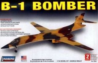 B-1 Bomber 1:144 Scale Plastic Model (144 Scale Plastic Kit)