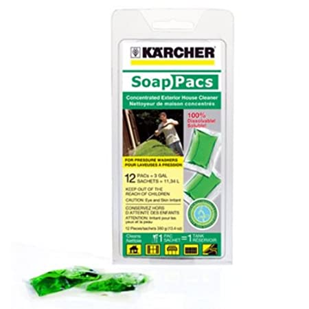 Karcher 9.558-116.0 Pressure Washer Exterior House Cleaner SoapPac, 12-Pack