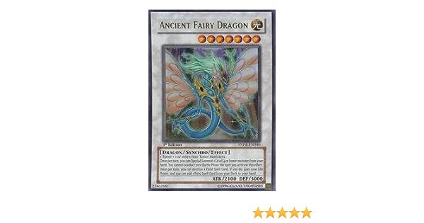 one left Yu-Gi-Oh ANCIENT FAIRY DRAGON ANPR-EN040 ULTRA RARE