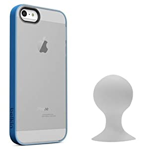 Grip Candy Sheer Case For iPhone 5 and 5S by Belkin /w Verizon iPhone Car Charger by Belkin / Verizon