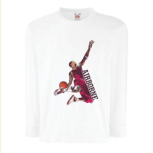 Camisetas de Manga Larga para Niño Sé el señor de la Gravedad, Baloncesto Freestyle Dunk - Me Encanta Este Juego (12-13...