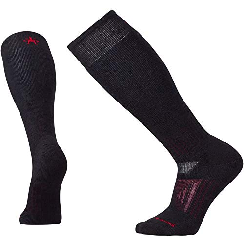 Smartwool Men's PhD Outdoor Heavy OTC Black - Smartwool Warmers Knee