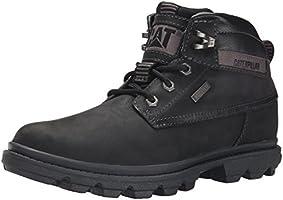 Caterpillar Men's Grady WP Chukka Boot, Black, 10.5 M US