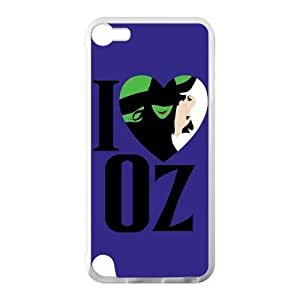 Musical Wicked Apple iPod Touch 5th Case Cover Protecter - Retail Packaging - Laser Rubber