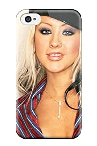 AERO Jose Aquino's Shop 9603864K24170555 Anti-scratch Case Cover Protective Christina Aguilera Case For Iphone 4/4s