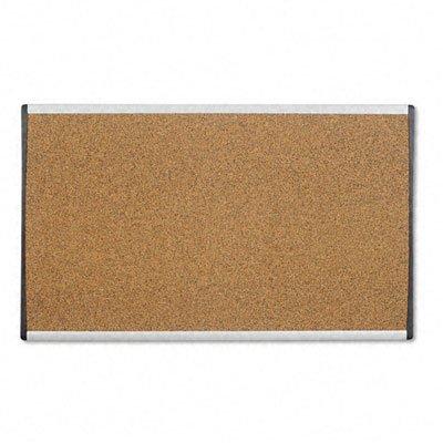 Quartet ARCB3018 - Cubicle Arc Frame Colored Cork Board, 18 x 30, Tan, Aluminum Frame