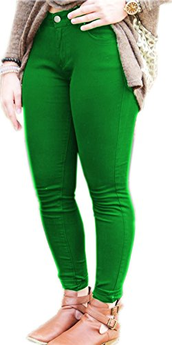 noir unique Jade Inc Jeans Vert taille Femme Vanilla q7wzntZR