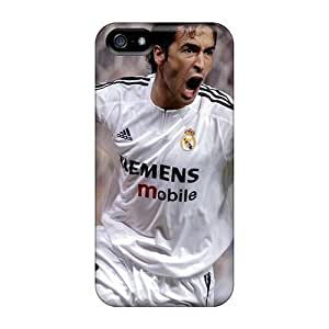 New Arrival DHvDpzN1693VvRVd Premium Iphone 5/5s Case(the Football Player Of Al Sadd Raul Gonzalez)