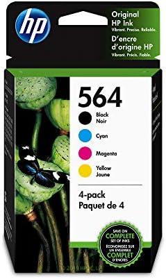Amazon.com: Cartuchos de tinta HP 564 negro, cian, magenta y ...