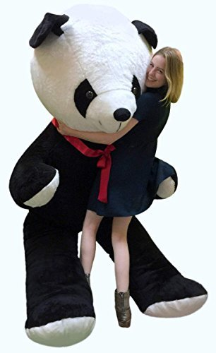 Amazon Com Big Plush Giant 8 Foot Stuffed Panda Bear Soft 96 Inch