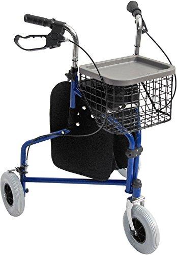 Accela 3 Wheeled Folding Rollator by Accela