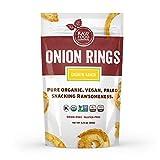 Raw Food Central Curt's Classic Onion Rings 100% Organic NON GMO Gluten Free Vegan (1.5 oz. ) 43 g.