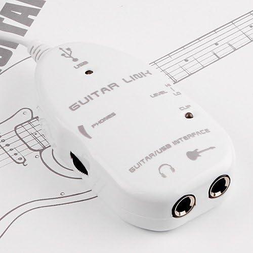 Adaptador USB para conectar guitarra sobre un PC, un MAC o un ...