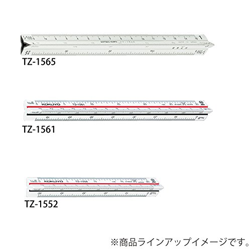 TZ-1561 triangular scale plastic core 15cm (japan import) by Kokuyo Co., Ltd. (Image #3)