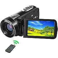 SEREE Video Camera Camcorder 1080P 24.0MP Digital Camera...