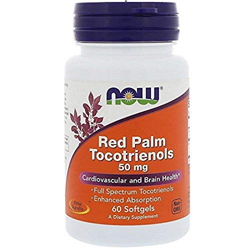 NOW Red Palm Tocotrienols 50mg, 60 Softgels