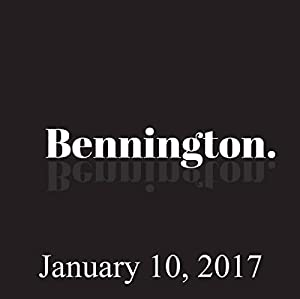 Bennington, January 10, 2017 Radio/TV Program