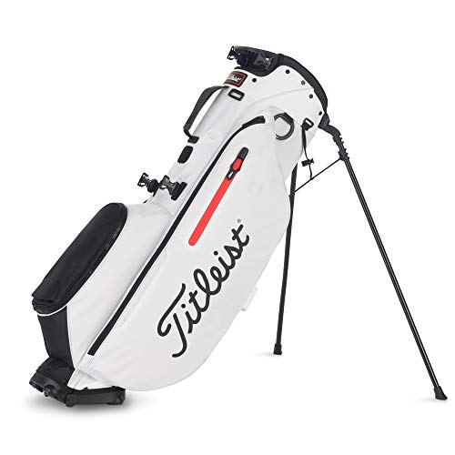 Titleist Players 4 Golf Bag White / White / Black