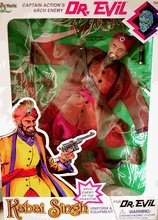 1/6 Scale Captain Action Dr Evil as The Phantom Arch enemy KABAI SINGH Accessary Outfit Set for 12