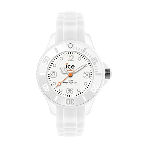 Ice-Watch Unisex SI.WE.U.S.09 Sili Collection White Plastic and Silicone - Uk Watchshop