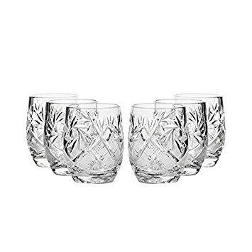 Set of 6 Neman Glassworks, 1.5-Oz Hand Made Vintage Russian Crystal Shot Glasses, Vodka Liquor Old-fashioned Glassware Review