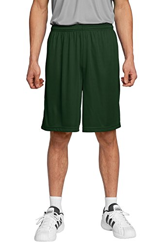 Sport-Tek Mens PosiCharge Competitor Short ST355 -Forest Green -