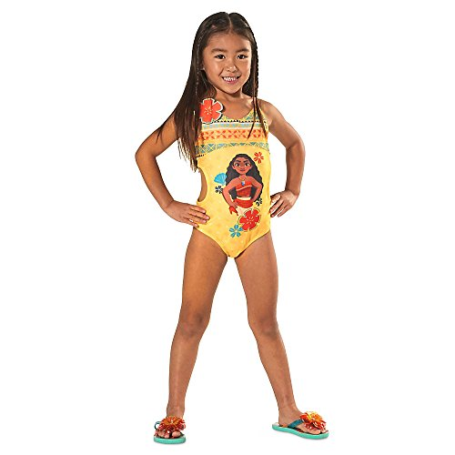 1768b97be1c19 Disney Moana Swimsuit for Girls Yellow - Buy Online in UAE ...